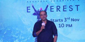 Ashutosh Gowarikar launches TV show Everest
