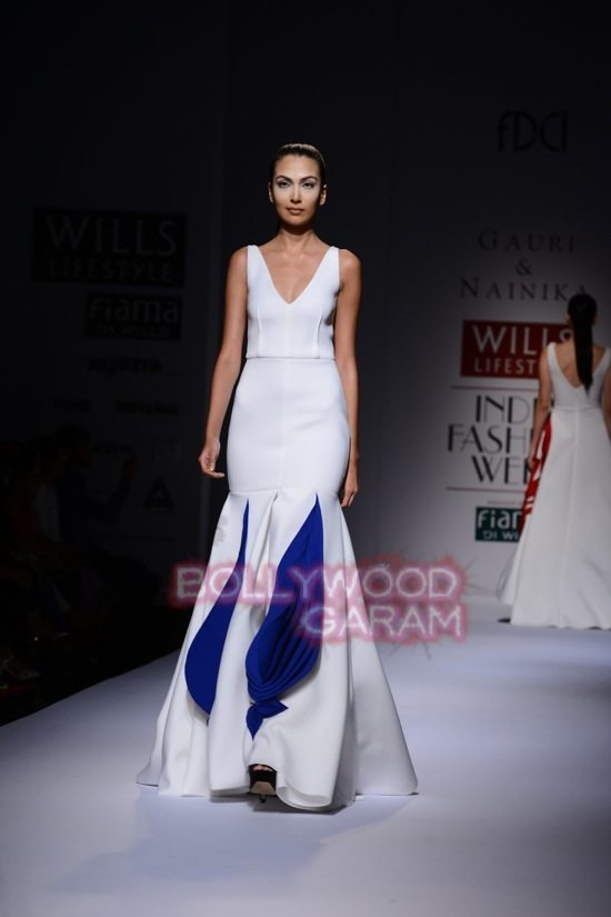 Gauri and Nainika Wills lifestyle Fashion Week 2015-16
