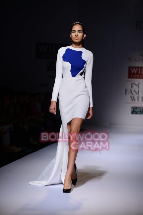 Gauri_Nainika Wills lifestyle Fashion Week 2015-2