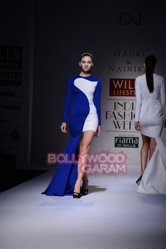 Gauri_Nainika Wills lifestyle Fashion Week 2015-3