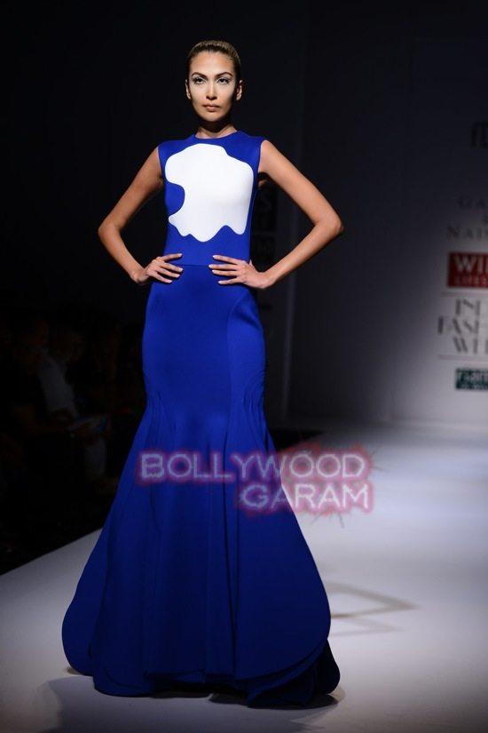 Gauri_Nainika Wills lifestyle Fashion Week 2015-4
