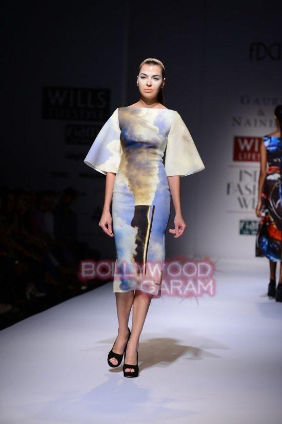 Gauri_Nainika Wills lifestyle Fashion Week 2015-6
