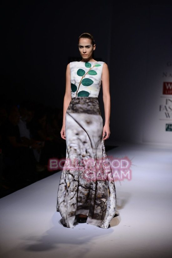 Gauri_Nainika Wills lifestyle Fashion Week 2015-9