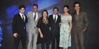 Happy New Year cast launches new song Sharabi