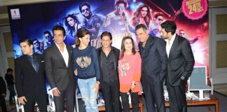 Happy New Year cast promote in Delhi – Photos