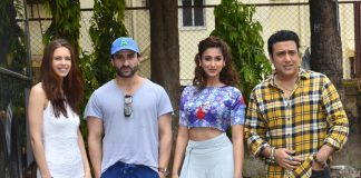 Saif Ali Khan, Ileana D'Cruz and Govinda at Happy Ending promotion