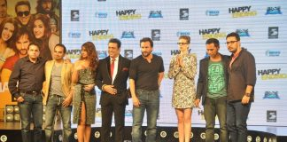 Saif Ali Khan, Govinda and Ileana D'Cruz launch Happy Ending music