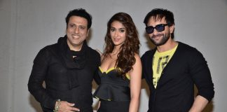 Saif Ali Khan, Ileana D'Cruz and Govinda promote 'Happy Ending'