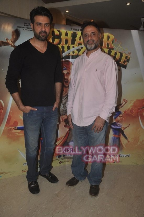 Harman and Harry Baweja_Char Sahibzaade-1