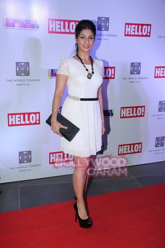 Tanisha mukerji hello art soiree