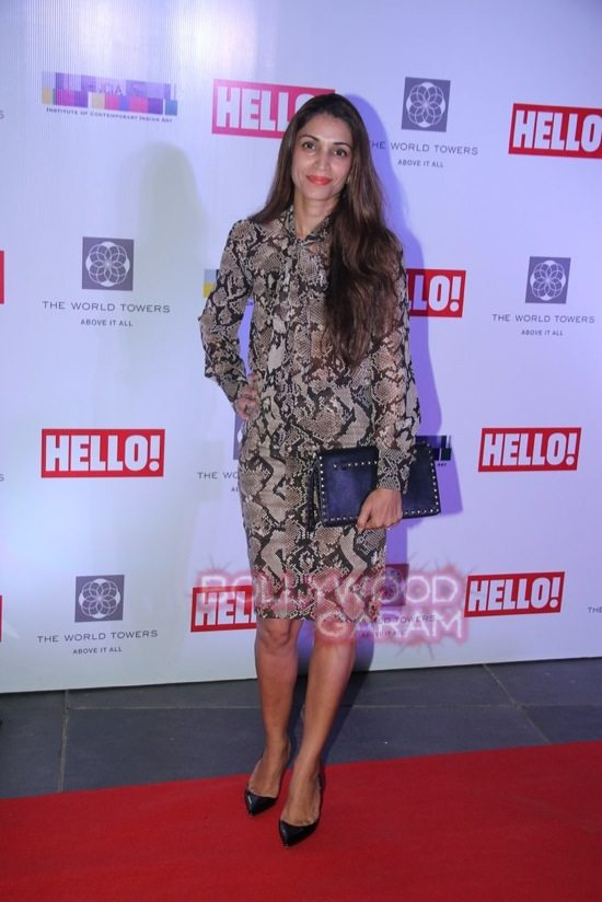 Hello art soiree red carpet celebs-5