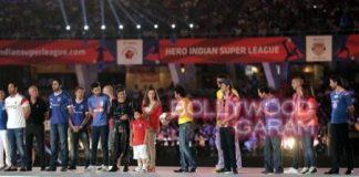 Indian Super League 2014 kicked off in Kolkata