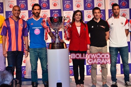 Hero ISL trophy unveiling-15