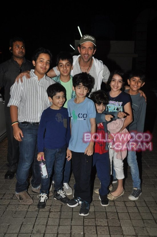 Hrithik Bang Bang screening-12