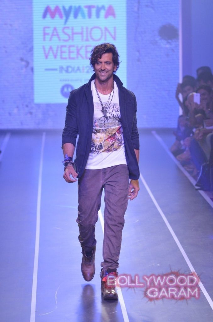 Hrithik HRX myntra fashion weekend-1