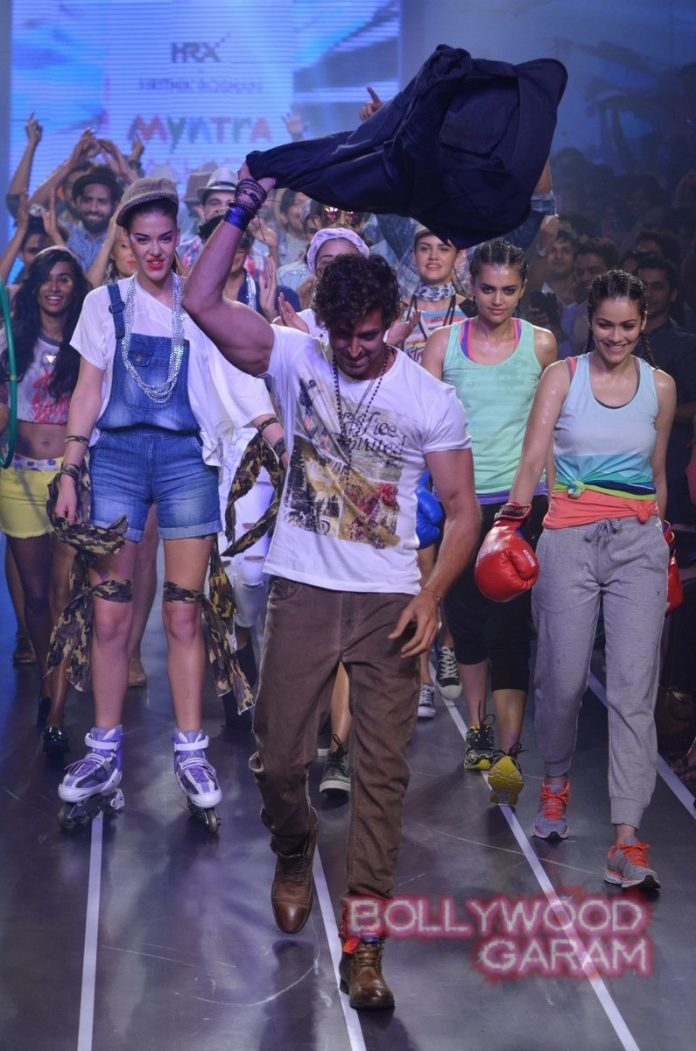 Hrithik HRX myntra fashion weekend-10