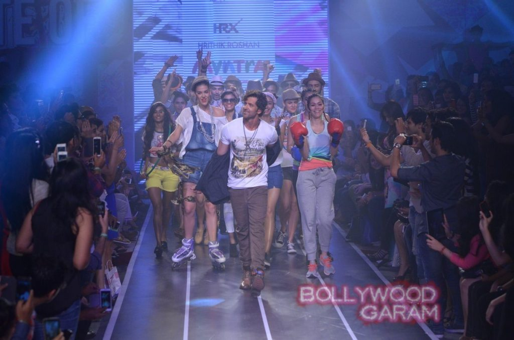 Hrithik HRX myntra fashion weekend-12