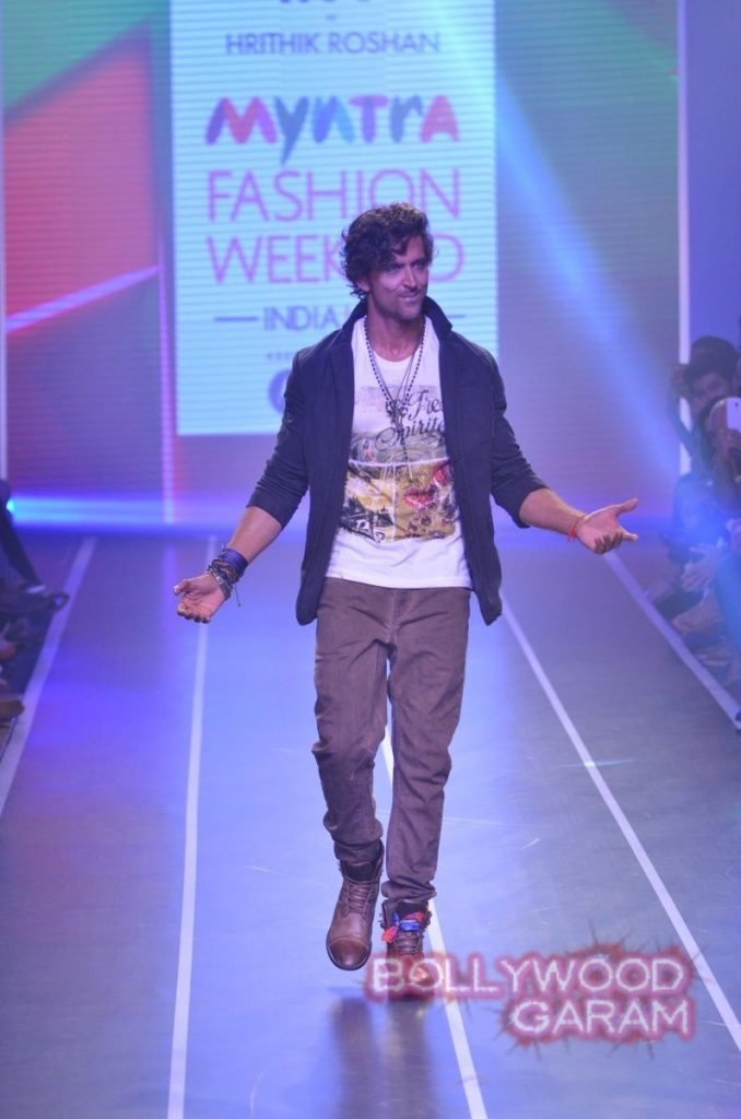 Hrithik HRX myntra fashion weekend-2