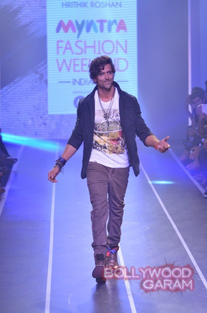 Hrithik HRX myntra fashion weekend