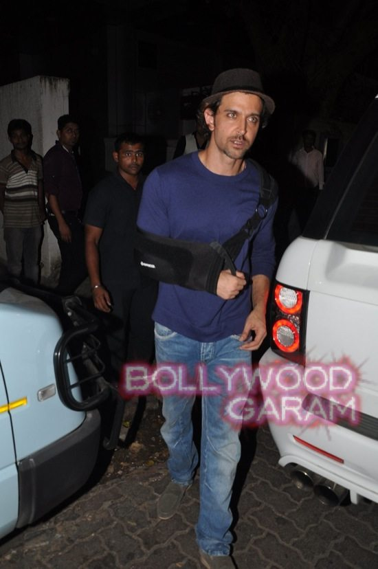 Hrithik Roshan injured