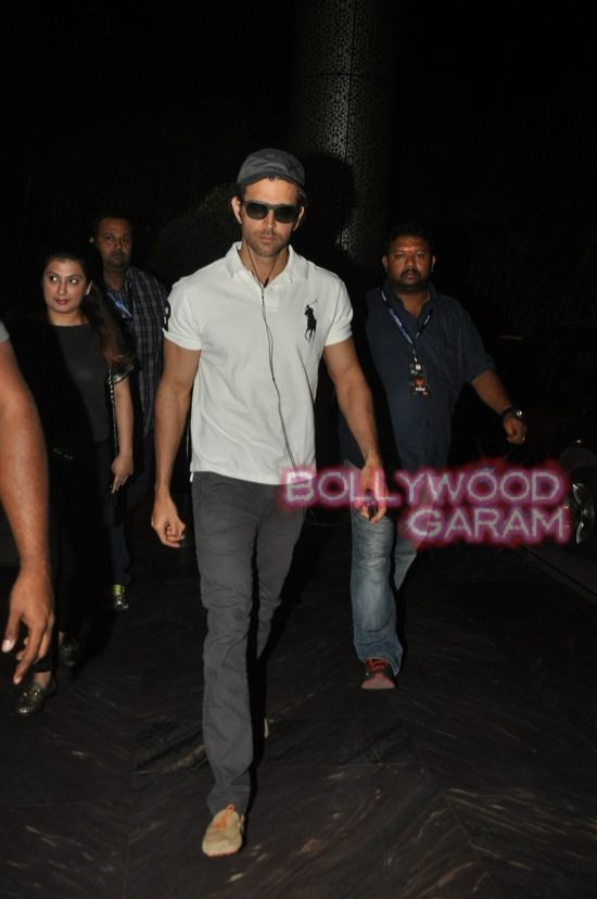Hrithik Roshan photographed at hotel-1
