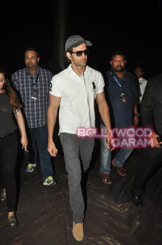 Hrithik Roshan photographed at hotel-6