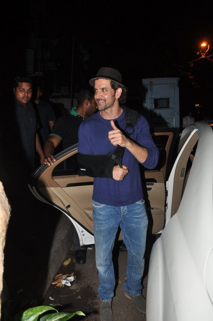 Hrithik injured