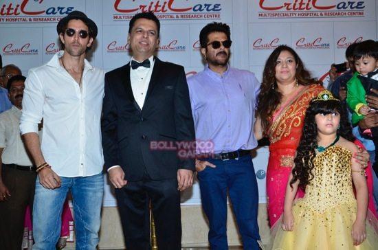 Hrithik_Anil Kapoor_Esha gupta_criticare hospital launch-13