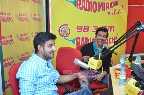 Hrithik Roshan and Siddharth Anand bang bang_Radio mirchi-10