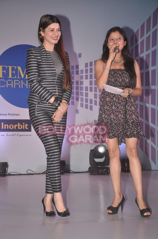 Kainaat Arora and Bhairavi at Femina Carnival-1