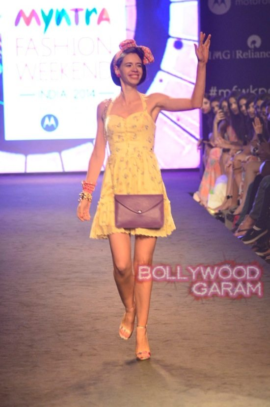Kalki and Cyrus Broacha walk the ramp -10