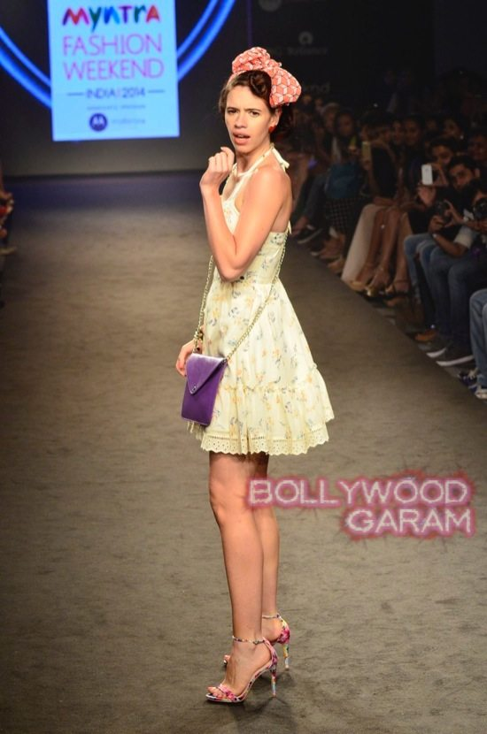 Kalki and Cyrus Broacha walk the ramp -14