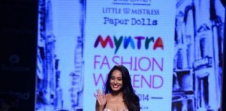 Myntra Fashion Weekend 2014 Photos – Lisa Haydon struts for Adhuna Akhtar