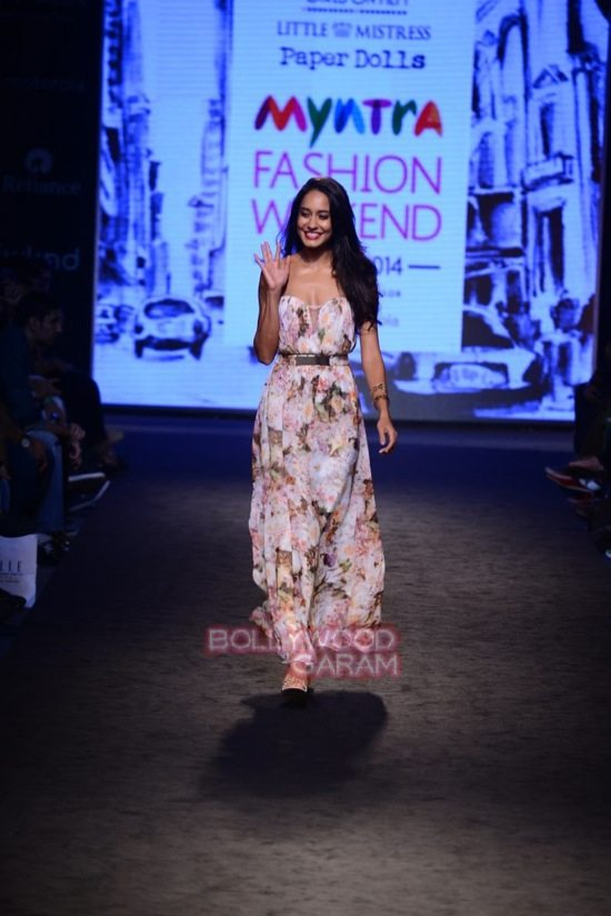 Lisa Haydon Myntra fashion weekend