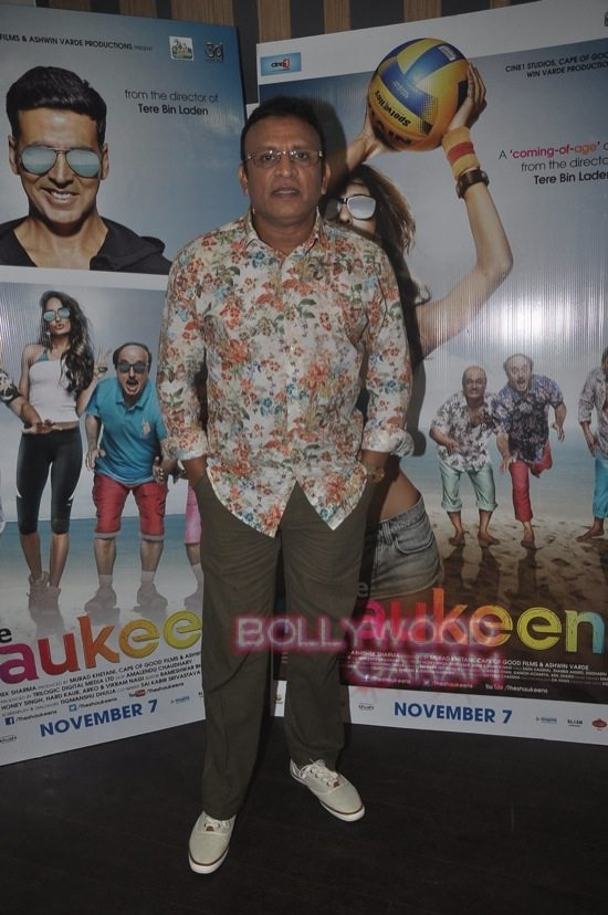 Lisa and Annu Kapoor_the shaukeens press meet-3