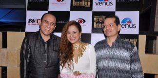 Dolly Bindra and Gurmeet Chaudhary at Liza Malik new single launch