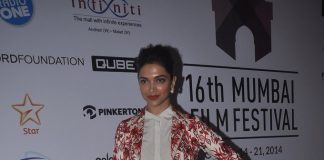 Deepika Padukone, Varun Dhawan and Imran Khan on Day 2 of Mumbai Film Festival 2014