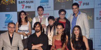 TV actors launch 'Maharakshak Aryan' show on Zee TV