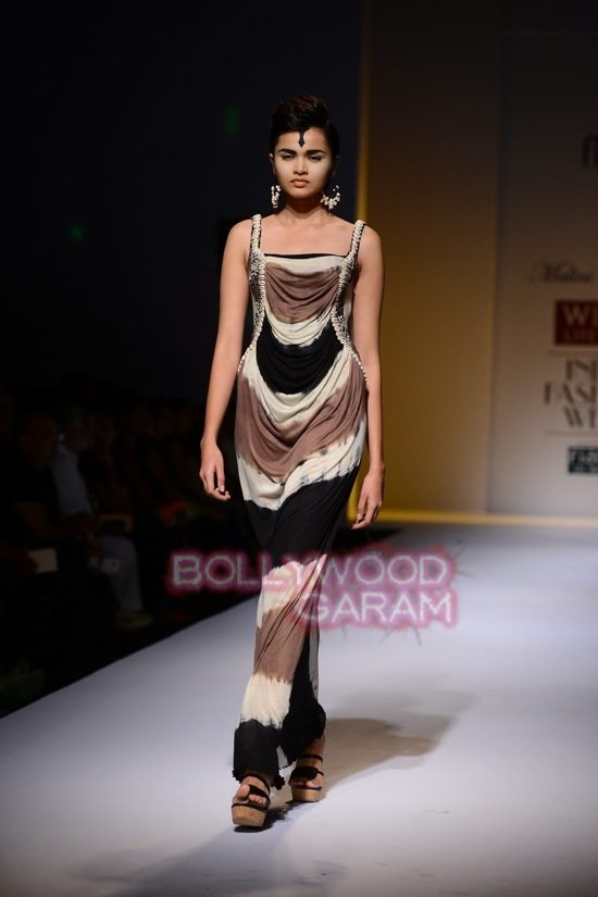 Malini collection_Wills India Fashion Week 2014-2
