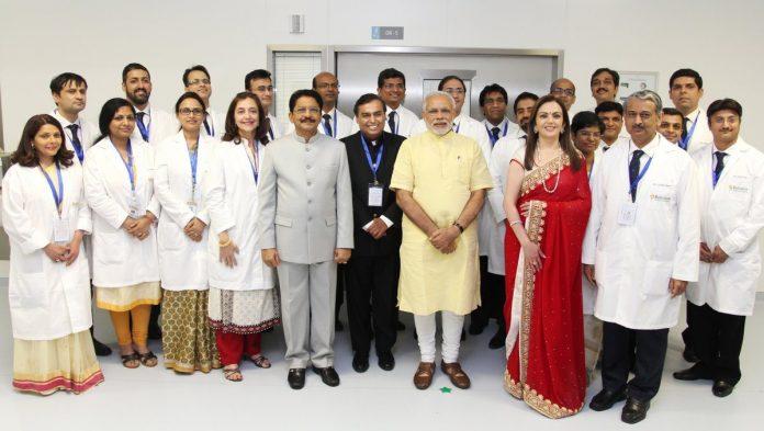Modi hospital inauguration
