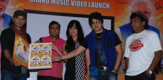 Mohit Chauhan, Sunil Pal and Ravindra Singh launch song dedicated to Narendra Modi