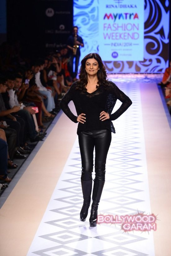 Myntra Fashion Weekend 2014 Sushmita sen-2