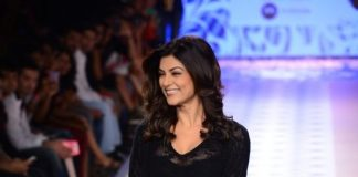 Myntra Fashion Weekend 2014 Photos – Sushmita Sen walks for Rina Dhaka