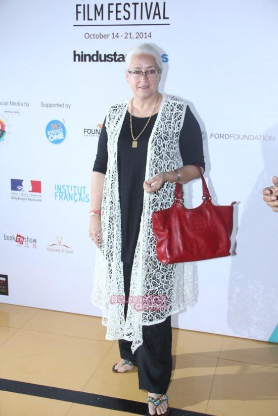 Nafisa Ali at Day 7 of 16th Mumbai Film Festival (MAMI)-1