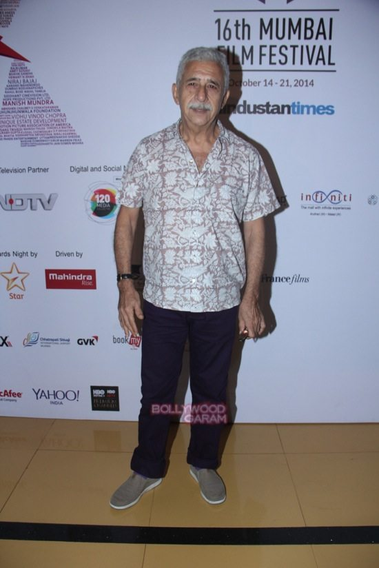 Nasiruddin Shah at Day 7 of 16th Mumbai Film Festival (MAMI)-1