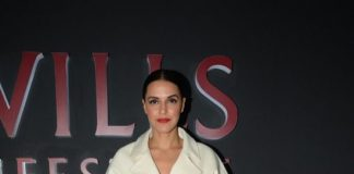 Wills Lifestyle India Fashion Week 2015  Photos – Neha Dhupia on Day 4
