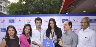 Neha Dhupia and Aditi Sharma attend Bombay Blues event