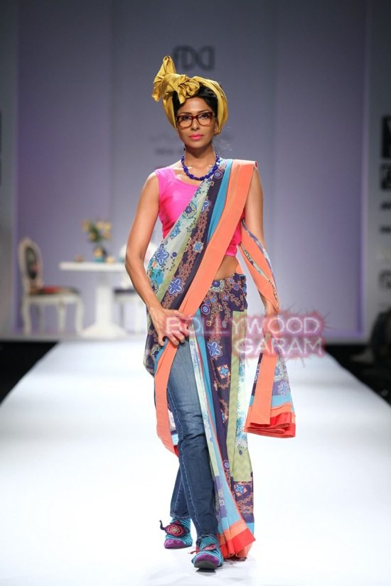 Nida M_Good Luck Irani Cafe collection_WIFW 2015-16