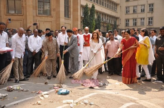 Nita cleanliness campaign-1