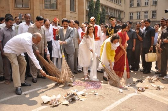 Nita cleanliness campaign-3